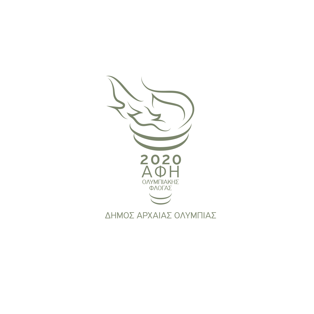 municipality of ancient olympia olympic flame touch 2020
