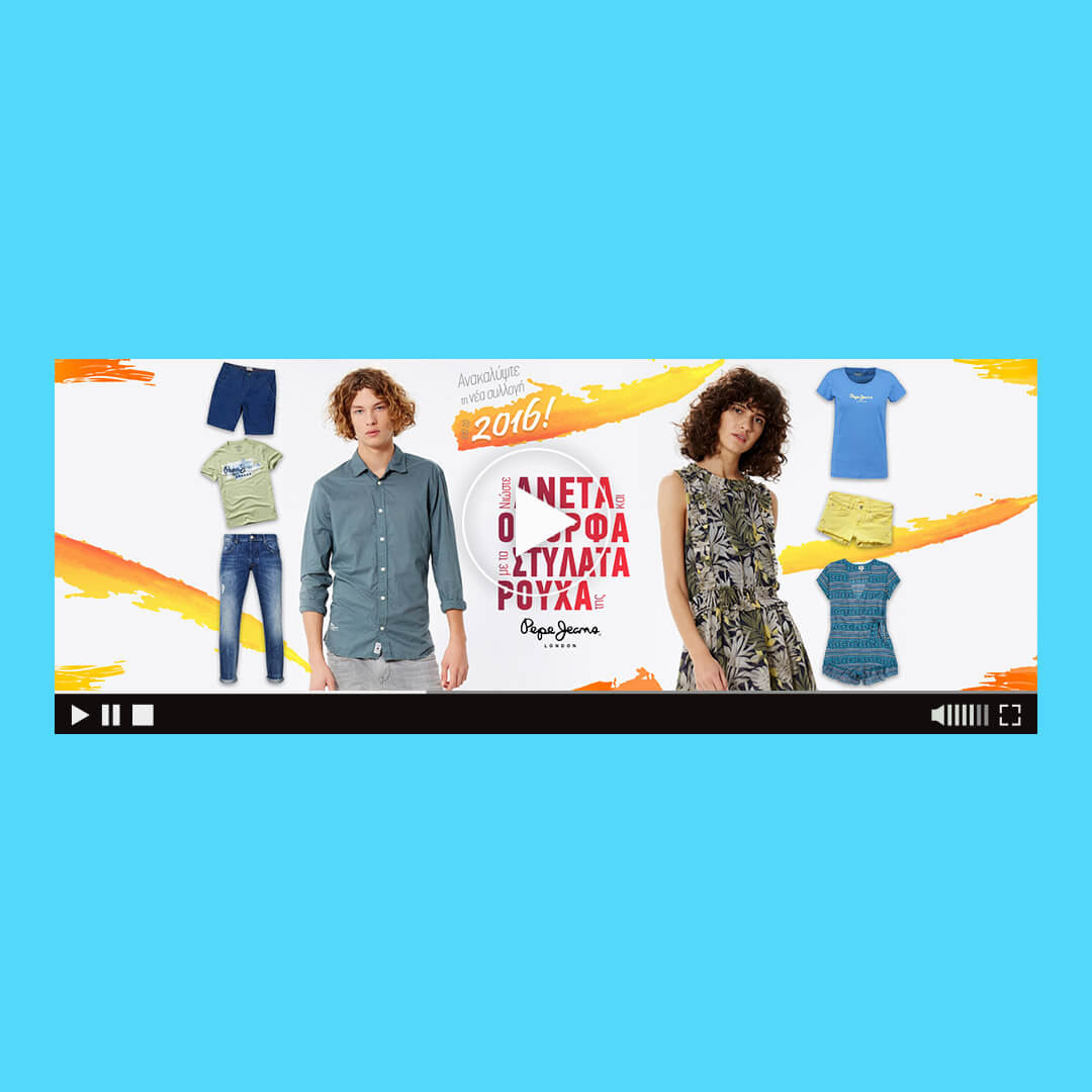 pepe jeans html5 banner